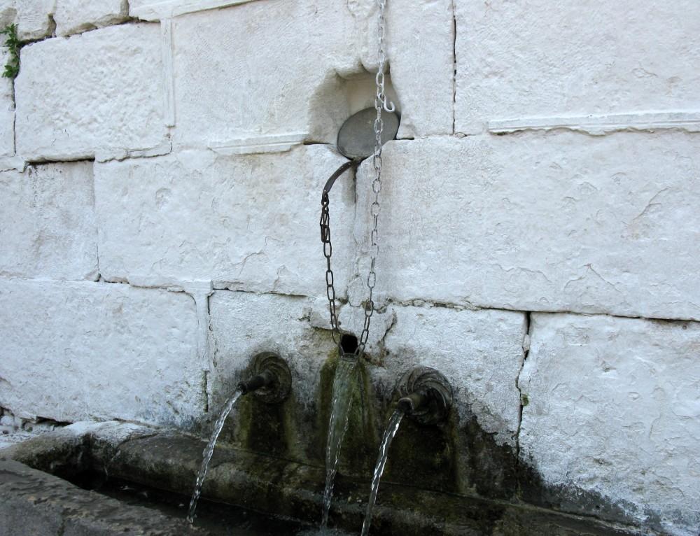 Ko že izvir pitne vode prikliče nasmeh na obraz
