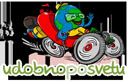logotip udobno po svetu