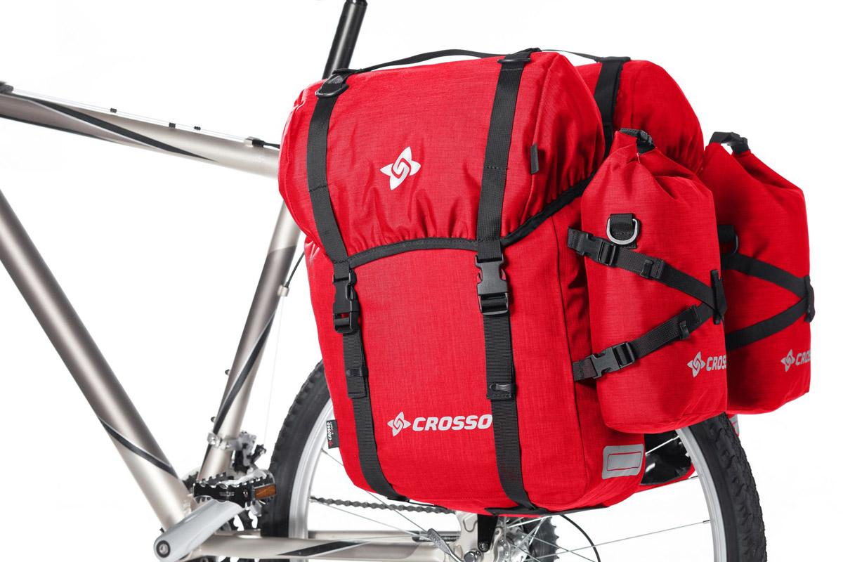 Expert 60 vodotesne kolesarske potovalne torbe