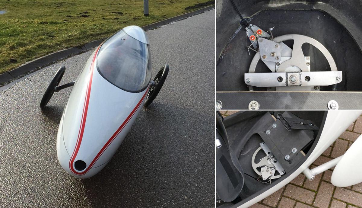 Velo-Tilt-nagibajoc tricikel