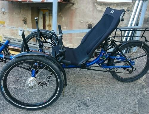 Prodam demo ICE ležeč tricikel