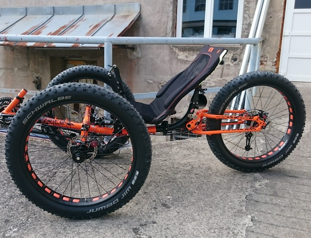 Fat tricikel ICE na voljo za testiranje